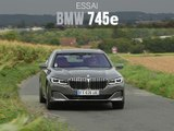 Essai BMW 745e hybride rechargeable (2019)