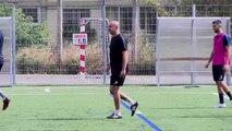 Farid Fouzari entraîneur de l'Athlético Marseille