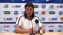 """Equipe de France (F) : """"J'ai retrouvé un groupe avec de l'envie"""" confie Diacre"""