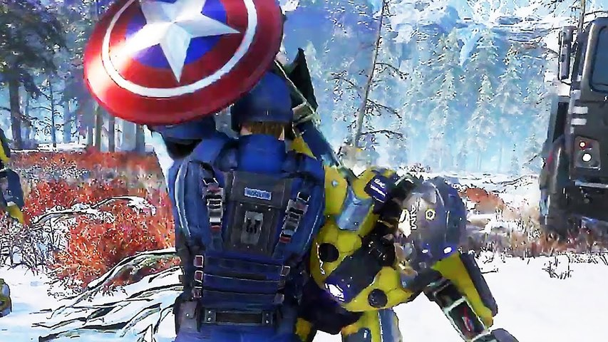 MARVEL'S AVENGERS _Captain America_ Bande Annonce de Gameplay (2020) PS4 _ Xbox One _ PC