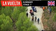Summary - Stage 7   La Vuelta 19
