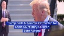 Trump Is Affecting U.S. Military Children