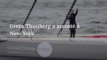 Tout juste arrivée à New York, Greta Thunberg attaque Donald Trump