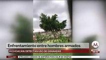 Reportan balaceras en Tepalcatepec, Michoacán