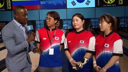 World Bowling Women's Championships - DOUBLES FINALS