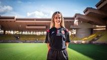 Georgia, une stagiaire particulière à l'AS Monaco
