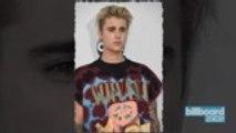 Justin Bieber Performs Gospel Song During Church Service | Billboard News