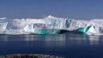 Fonte d'un énorme glacier au Groenland !