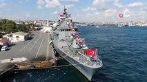 TCG Oruç Reis ve TCG Güven savaş gemileri kapılarını ziyaretçilere açtı