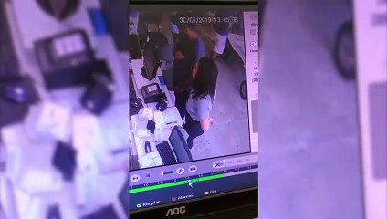 Casal é flagrado furtando celular dentro de comércio no Centro de Itapipoca
