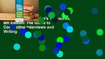 Full version  Clinician's Thesaurus, 8th Edition: The Guide to Conducting Interviews and Writing