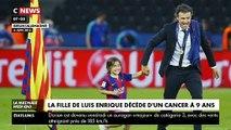 rès forte émotion après l'annonce par l'ancien sélectionneur de l'Espagne, Luis Enrique, de la mort de sa fille Xana, âgée de 9 ans, des suites d'un cancer des os