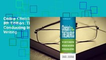 Online Clinician's Thesaurus, 8th Edition: The Guide to Conducting Interviews and Writing