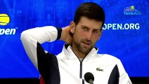 "US Open 2019 - Novak Djokovic : ""I do not want to talk about my injury"""