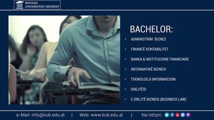 Kolegji Universitar i Biznesit Ads - Long version -  AF Creative