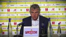FC Nantes - Montpellier HSC : la réaction des entraîneurs