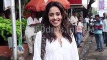 Dream Girl Star Nushrat Bharucha Spotted at Homemade Cafe Juhu