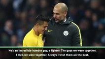 Guardiola defends 'incredible' Sanchez