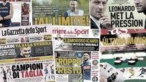 L'énorme cagnotte que le Real Madrid peut encore investir ce mercato, le duel entre la Juve et le Napoli fait saliver l'Italie