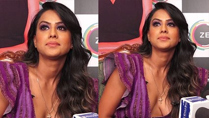 Ravi Dubey wasn't comfortable to kiss Nia Sharma