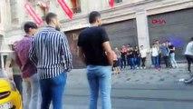 "İstiklal Caddesi'nde ""meydan savaşı"""