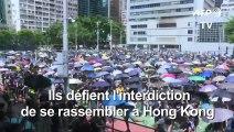 """Hong Kong est un """"Etat policier"""", selon l'activiste Joshua Wong"""