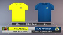 Match Preview: Villarreal vs Real Madrid on 01/09/2019
