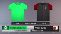 Match Preview: Werder Bremen vs Augsburg on 01/09/2019