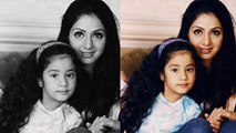 Jhanvi Kapoor with her mother Sridevi's throwback pic gets goes VIRAL | FilmiBeat