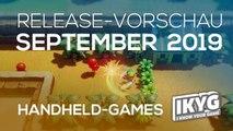 Games-Release-Vorschau - September  2019 - Handheld