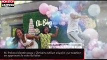 M. Pokora bientôt papa : Christina Milian dévoile leur réaction en apprenant le sexe du bébé (vidéo)