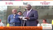 Indépendance décalée de la CI aux USA : L'Ambassadeur Inza CAMARA appelle à la cohésion sociale