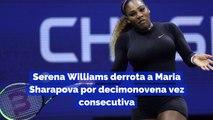 Serena Williams derrota a Maria Sharapova por decimonovena vez consecutiva