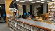 Une bibliothèque n'est pas faite pour ça