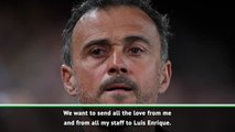 Zidane and Real send love to Luis Enrique