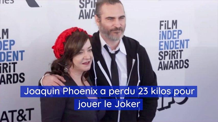 Joaquin Phoenix a perdu 23 kilos pour jouer le Joker