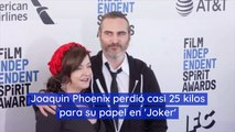 Joaquin Phoenix perdió casi 25 kilos para su papel en 'Joker'