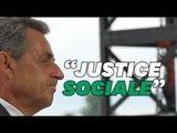 Au Medef, la leçon de français de Sarkozy (qu'il ne s'applique pas à lui-même)
