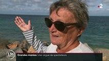 Grandes marées : une vague de spectateurs déferle sur la Manche