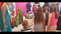 La Reine des neiges, les super-héros de Marvel et les jedis de Star Wars rendent visite aux enfants soignés au service pédiatrie de l'hôpital de Pontarlier