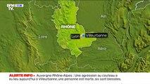 Une agression au couteau a fait au moins un mort et six blessés ce samedi à Villeurbanne