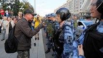 """""""Russland wird frei"""": Tausende Menschen bei Protestmarsch in Moskau"""