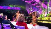 """Cinq candidats se mettent entièrement nus sur la scène de """"La Hollande à un incroyable talent"""" en direct à la télé"""