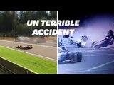 Formule 2: un pilote Français transporté à l'hôpital après un terrible accident
