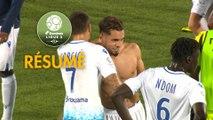 AJ Auxerre - AC Ajaccio (3-1)  - Résumé - (AJA-ACA) / 2019-20