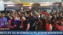 Tiba di Yogyakarta, Westlife Disambut Meriah Penggemar