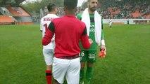 Lorient-EAG 0-1  La Joie de fin de match