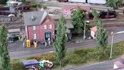 Modélisme ferroviaire en Allemagne: Une petite exposition de trains miniatures à l'échelle H0 - Une vidéo de Pilentum Télévision - Modélisme ferroviaire, trains miniatures, maquettisme et chemin de fer