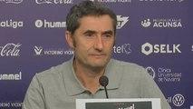 """Valverde: """"El partido lo teníamos controlado y no tenemos que permitir que se nos escape"""""""