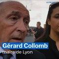 Gérard Collomb réagit à l'agression au couteau à Villeurbanne